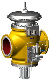 Pilot Operated Regulator Natural Gas